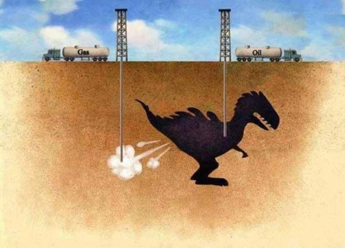 Dinosaur oil and gas